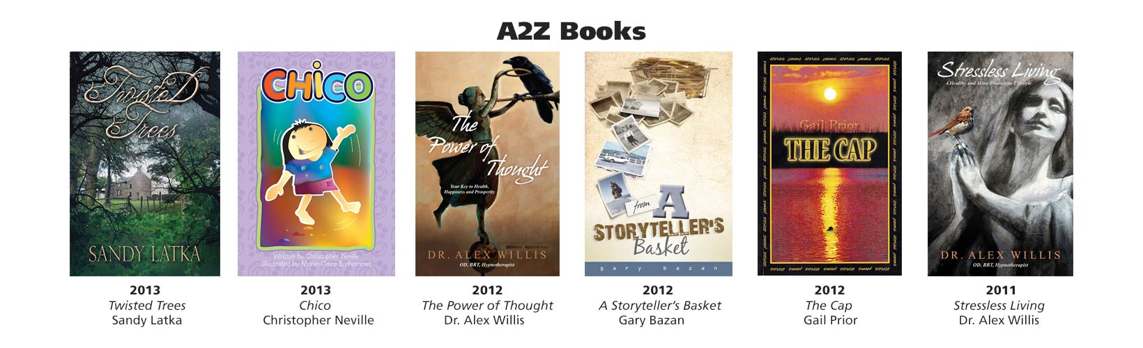 Books published under consultation with Yasmin John-Thorpe's A2Z Books