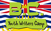 British Columbia (B.C.) Youth Writers Camp logo